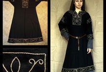 saxon woman clothing