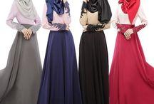 vestidos con hijab
