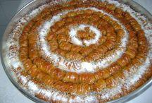 Baklava pasta tatlılar / ..