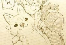 Fan Art animals ,