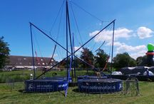 Bungee trampoline / topattractie