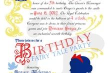 Fairy tale birthday