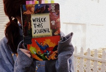 Wreck this journal / by Estefania Leon Pasaguay
