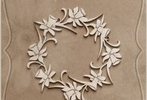 Die cut chipboards