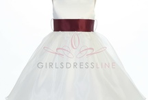 flower girl dresses / by Ashley Holden