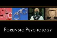 Forensic Psychology / All About Forensic Psychology (www.all-about-forensic-psychology.com) / by All About Psychology