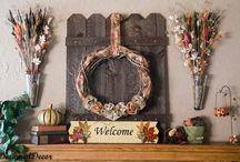 Interior Decorating: Mantels and Vignette