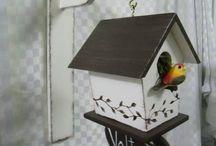 casinhas de passarinho