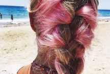 Pink hair, don't care / Pink hair inspiration & ombre hair obsession!