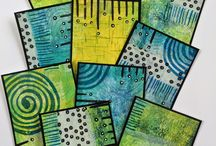 Artist trade cards/ pocketletter