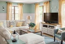 James Island Family Room/Coastal Rooms / coastal decor for living/family rooms