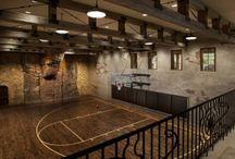 maison terrain de basket