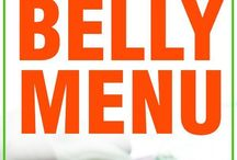 Flat belly menu