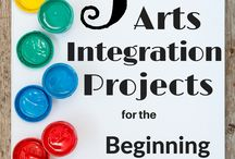 Arts integration-visual arts