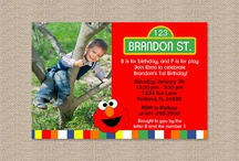 Sesame street kids party