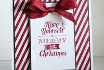 Stampin up Have yourself a Merry little Christmas