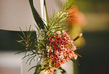 Svatební květinové dekorace