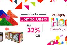 Festival / Make this #Holi more colourful Holi #colors & #pichkari directly from big wholesalers. Unbelievable #price & free home delivery @ gandhibagh.com