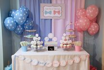 Baby shower para revelar sexo feel bebe