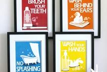 Kids bathroom / by Karie Smith-Stephens
