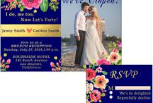 Elopement Party Invitations