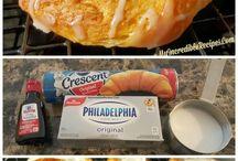crescent rolls - sweet