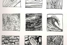 Texture Drawing Trees
