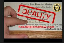 online fake diplomas / Now a days ordering online fake diplomas for novelty purpose, or some other reasons have been very popular. But it is very hard to judge the best online fake degrees providing company for you. In our website you will find the ranking of fake diploma certificate making companies with detailed reviews. The fake college diploma should exactly look like the real one, otherwise it is total waste to order. http://www.diplomaone.com