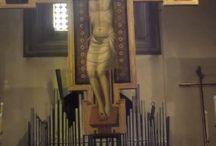 """Crocifisso. Firenze, S. felice in Piazza / Crocifisso. Firenze, S. felice in Piazza. 1308 circa, attribuito al cosiddetto """"Parente di Giotto"""""""