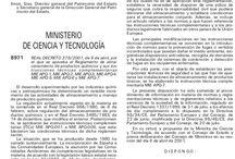Reglamento Almacenamiento Productos Químicos / Reglamento Almacenamiento Productos Químicos