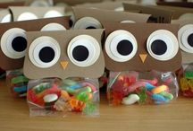 Party Idea - Bag Toppers and Favors