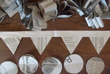 Newspaper Party Decorations
