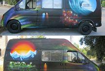 Paint Works / Trabajos realizados en exterior/interior de gran formato y para diferentes clientes.