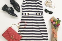 Work wardrobe / Outfit ideas for work and working girl closet staples.