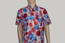 Baju Batik Kantor Pria Hem Batik H-1280