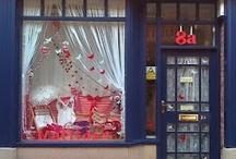 lindas vidrieras / admirar la decoración de vidrieras