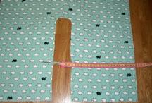 Fabric shawl pattern