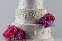 Dream Cakes from Martin's Bake Shoppe / Our wedding cakes are made from scratch using only the finest ingredients.  Your guests will be impressed with both the beauty and taste of your wedding cake from Martin's Bake Shoppe.  The cake designs shown below represent only a sampling of what we have available.  Call our wedding cake experts at Martin's Central Bakery (574) 254-9604 for more information or to schedule a consultation.
