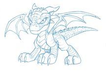 Manga dragon