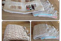 Crocheted hook saver