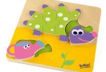 Puzzles Infantiles Boikido / Puzzles infantiles para niños a partir de +12 meses