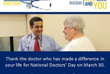 Celebrating Doctors / Doctors deserve appreciation for their life-saving work and compassionate care.