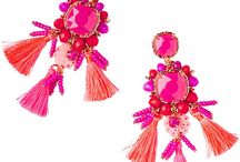 How to wear statement jewelry / How to wear statement earrings and statement necklaces