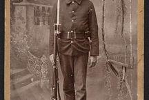 US Soldiers around 1900