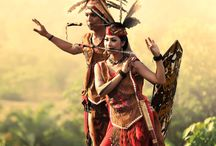 "Amazing ""DAYAK"" Tribe / Borneo Indonesia / West Kalimantan, East Kalimantan, Central Kalimantan, North Kalimantan, South Kalimantan / Kalimantan / Indonesia"