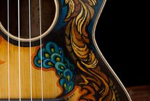 Music Art Inspiration / I'm in love with guitars, music and art. What could be better than combining that?