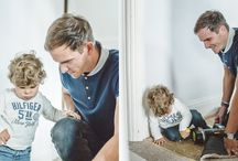Daddy and Child / Beautiful pictures capturing the special bond between a father and his child.