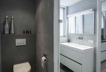 Badkamer voorbeeld 2 / Doe inspiratie op in deze sfeervolle badkamer gerealiseerd door Sanidrõme.