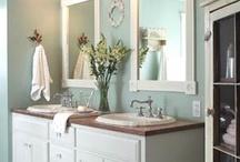Ranch farm house master bathroom