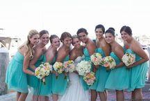 Turquoise Seashore Wedding